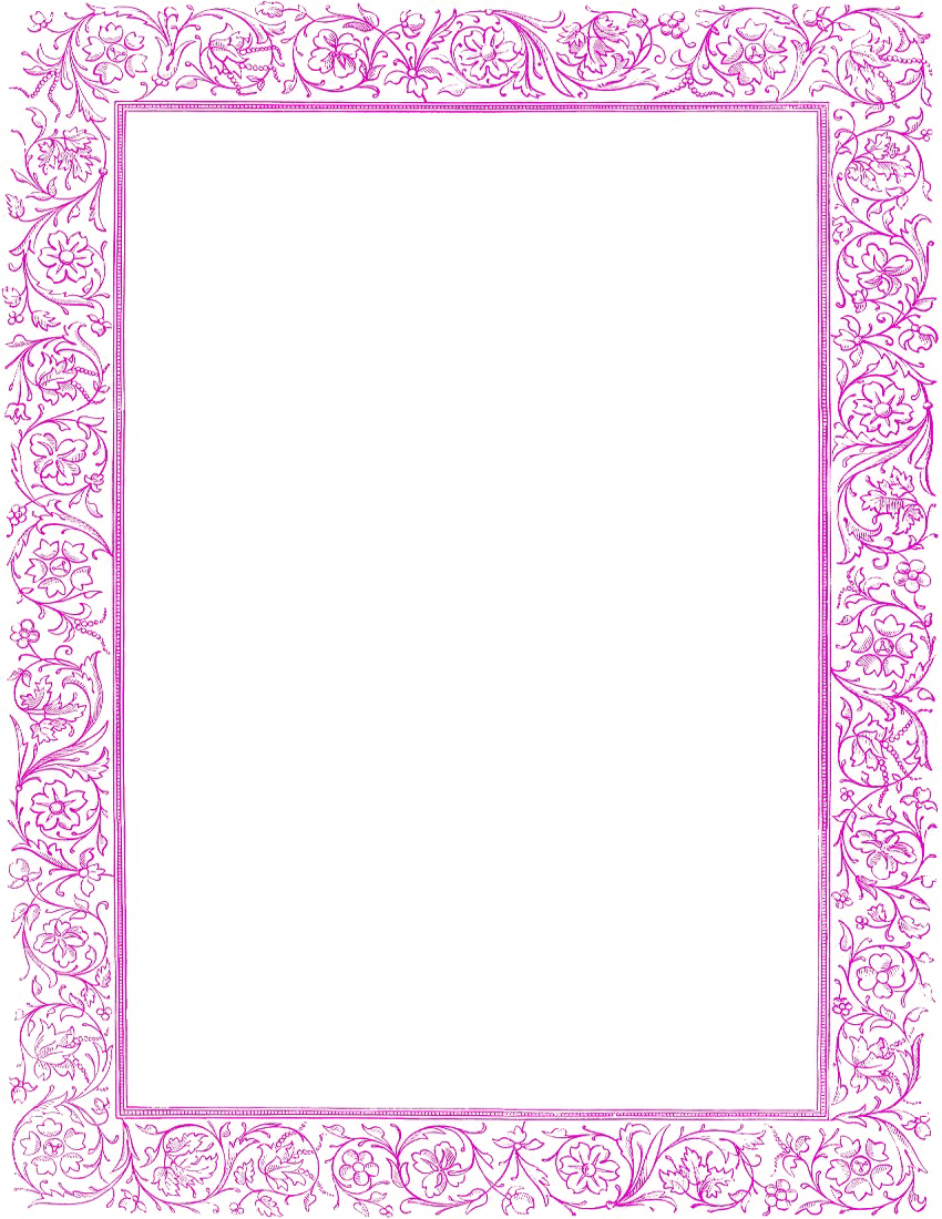Png free download mart. Girly clipart border