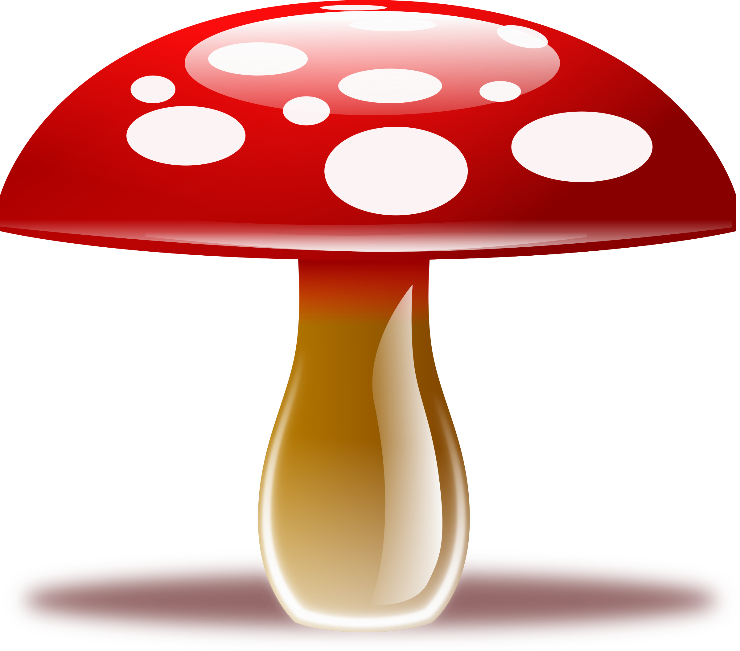 mushrooms clipart enchanted forest