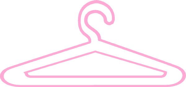 Hanger clipart clipart pink. Free cliparts download clip