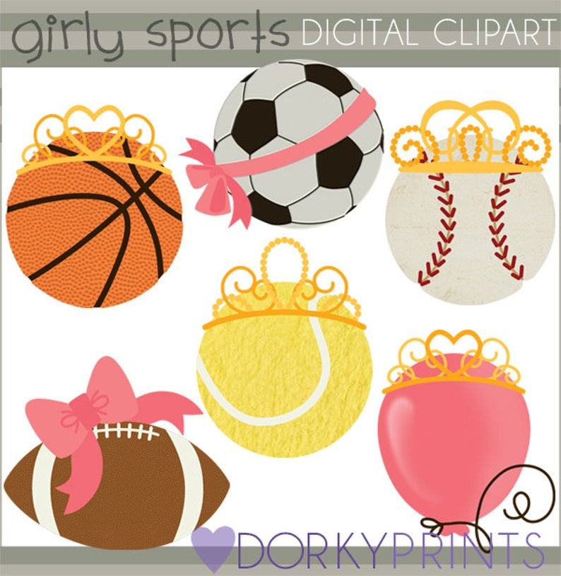Girly clipart football. Sports personal and limited