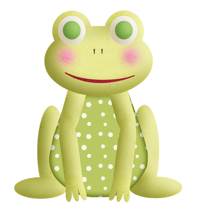 frogs sapitos pinterest. Girly clipart frog