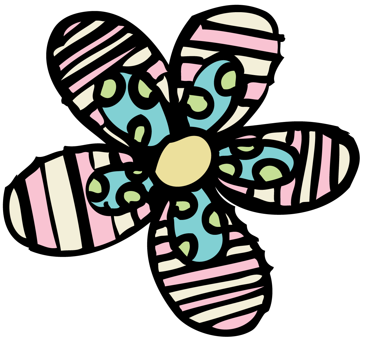All things illustrating patterned. Girly clipart girly stuff