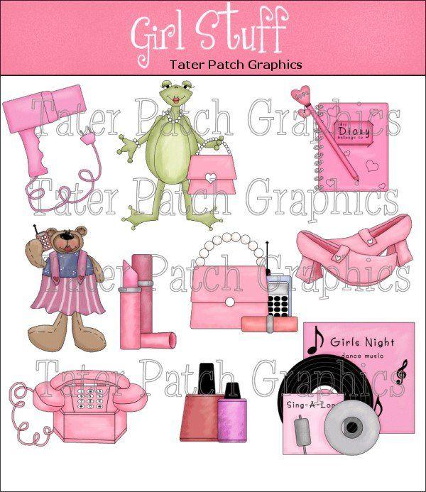 girly clipart girly stuff
