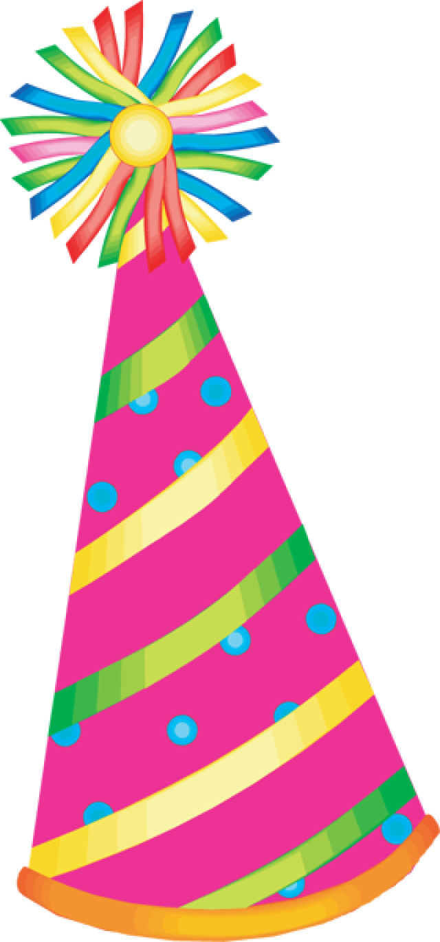 Party group birthday transparent. Girly clipart hat