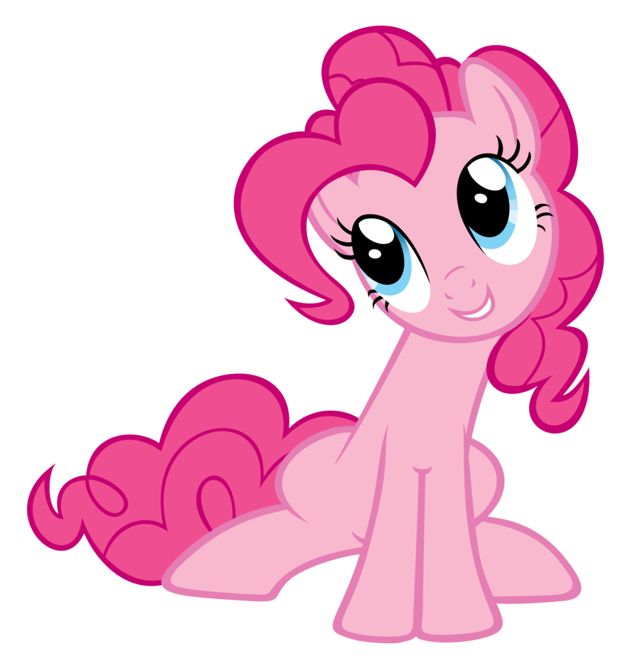 Pinkie pie the parody. Girly clipart horse