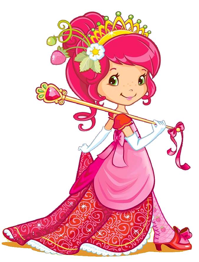 Strawberry girl kawaii pinterest. Strawberries clipart princess