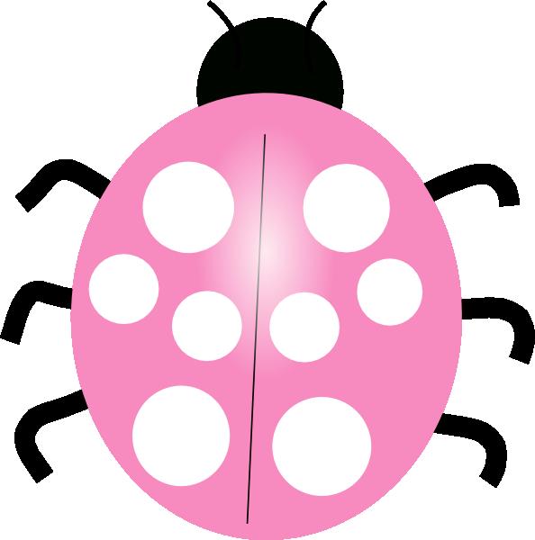 Girly clipart ladybug. Pink cake panda free