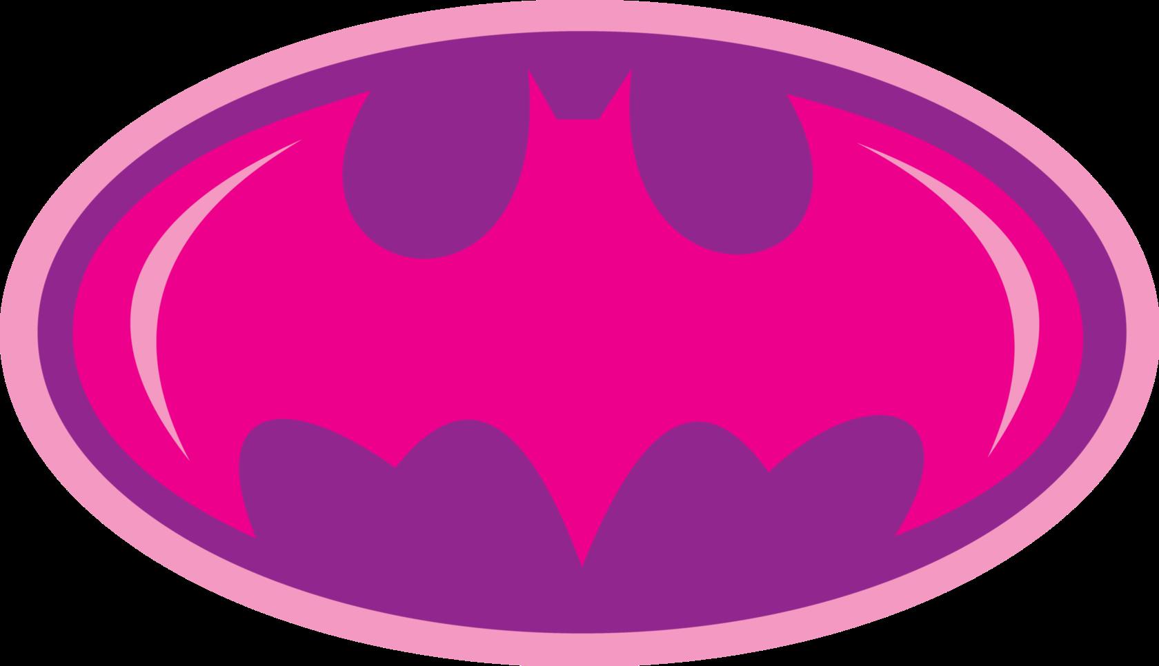 Lip clipart girly. Pink purple batman batgirl