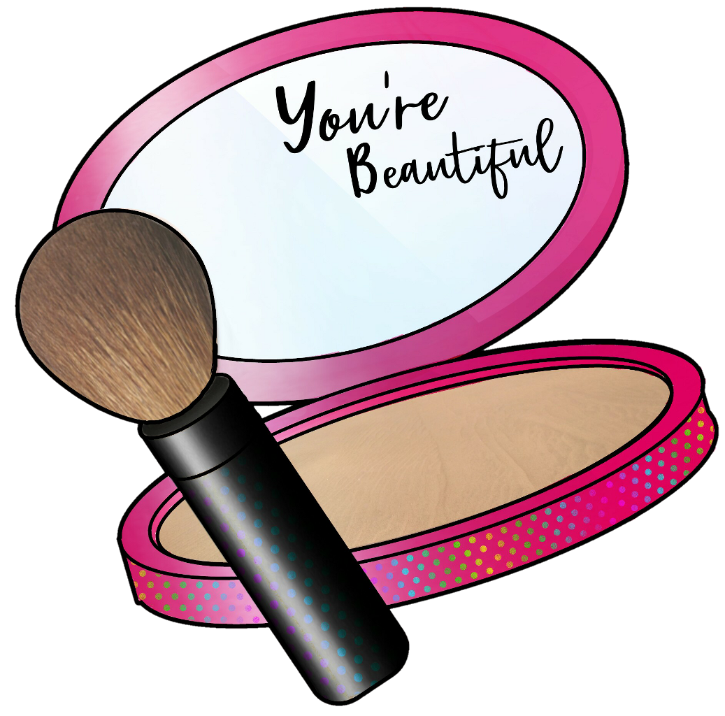 Girly clipart makeup. Remixed from picsart stickers