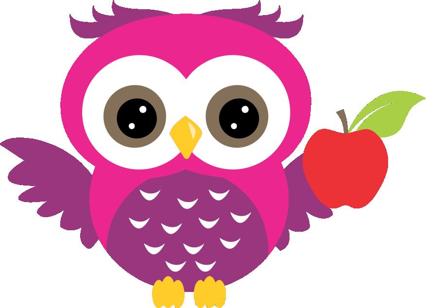 Girly clipart owl. Coruja png ch de