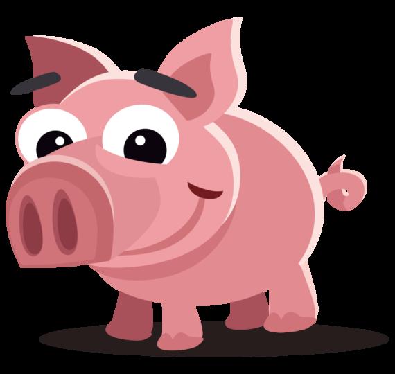collection of pig. Hog clipart transparent background