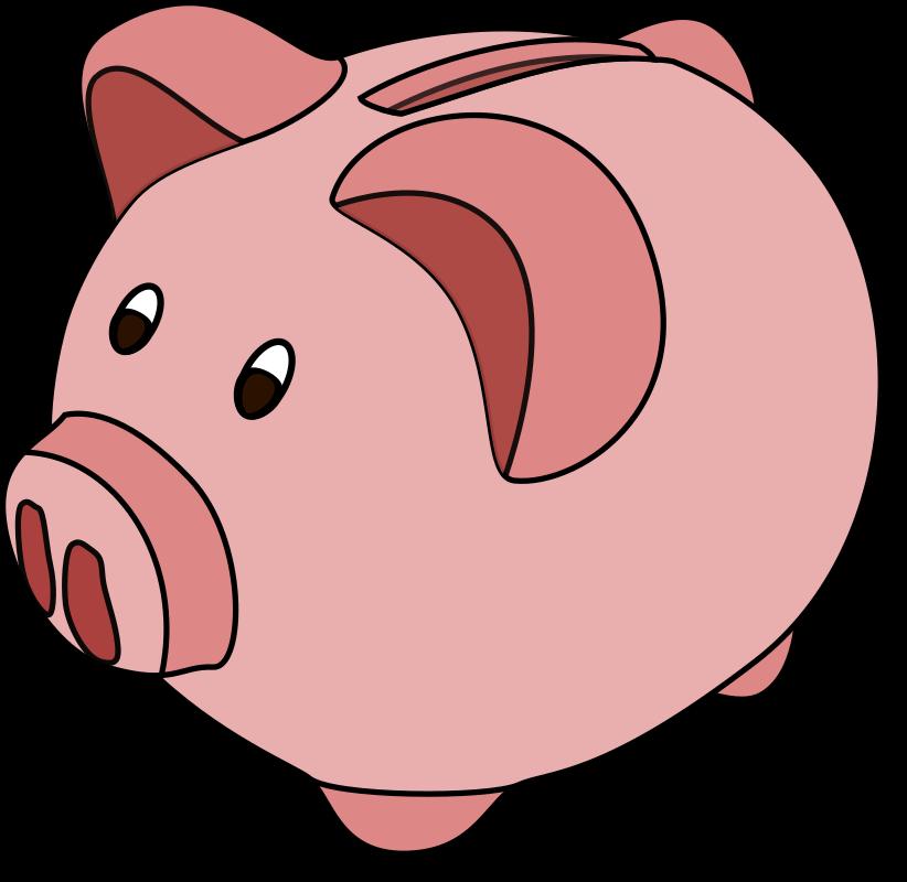 Cartoon free clip art. Pig clipart animated