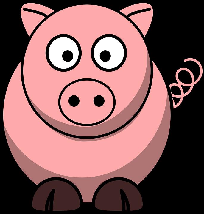 Pig roast group free. Hog clipart transparent background