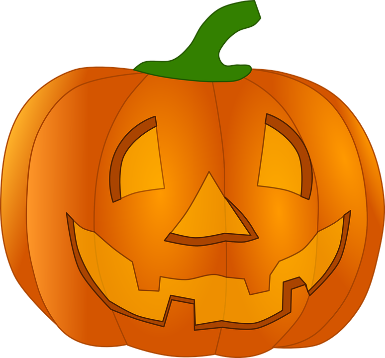 Pumpkin clipart simple. Collection of funny halloween
