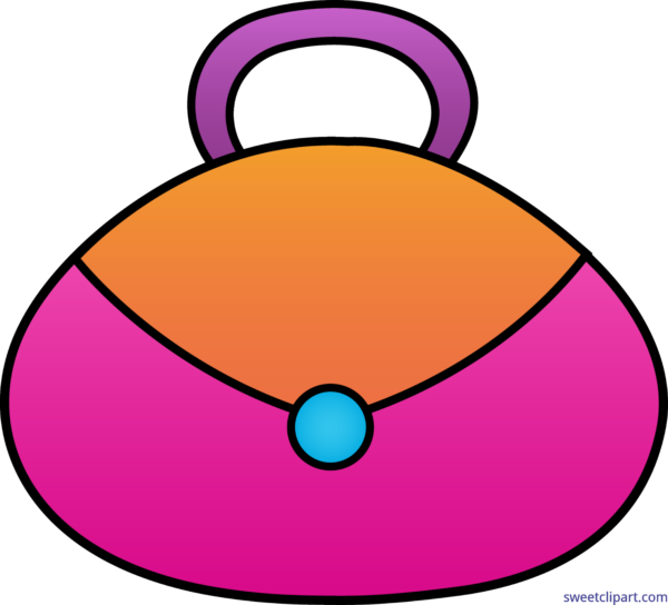 At getdrawings com free. Girly clipart purse