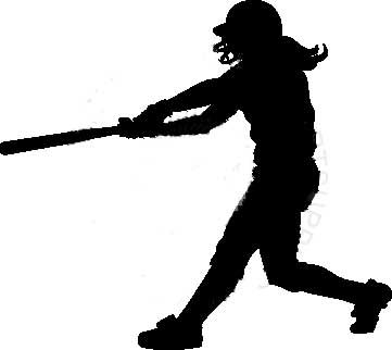 Softball clipart softball player. Girls free download clip