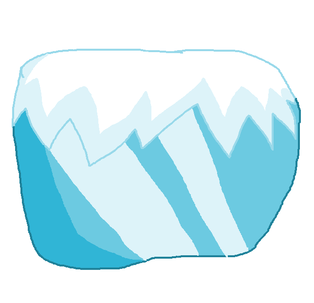 Image body png object. Glacier clipart