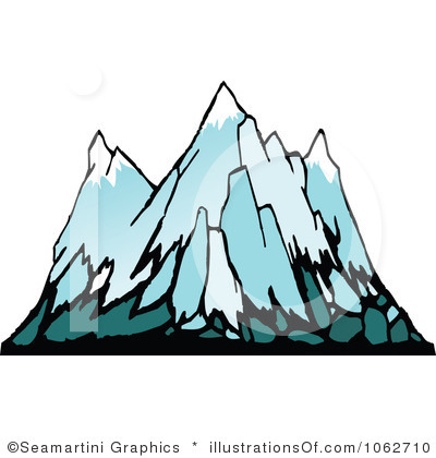 . Glacier clipart