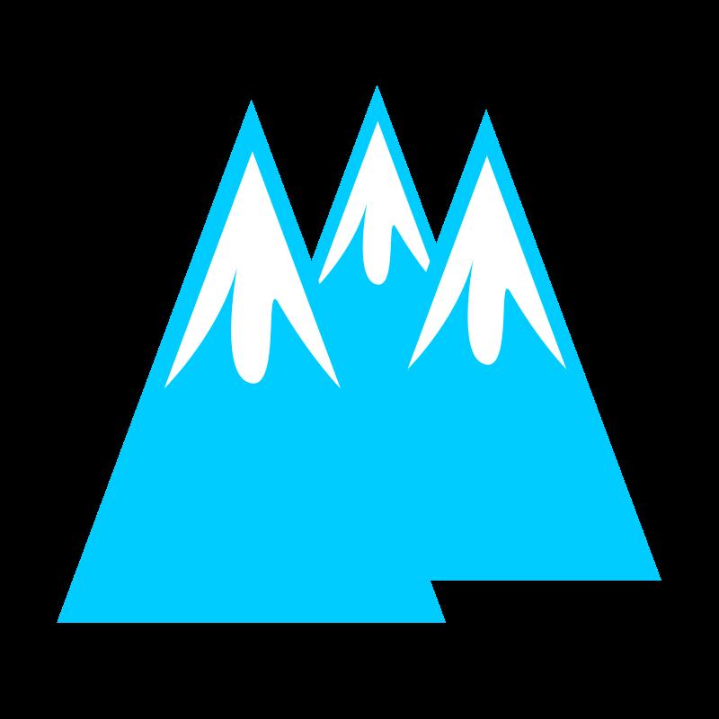Glacier clipart. Medium image png