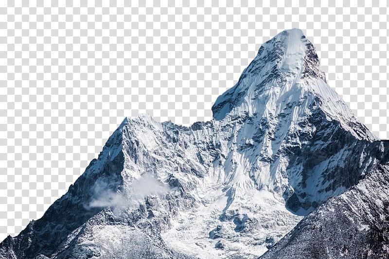 Mountains mount everest transparent. Glacier clipart big mountain
