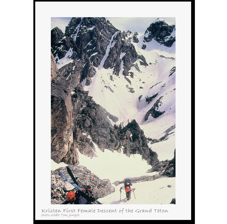 Glacier clipart big mountain. About kristen ulmer skiing