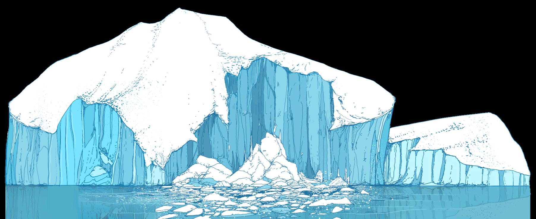 Glacier clipart biome arctic. The ocean is broken