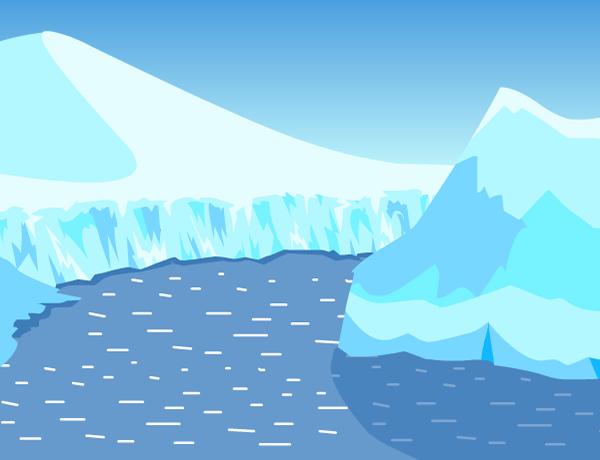Glacier clipart biome arctic. Free iceberg download clip