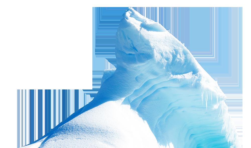 collection of iceberg. Glacier clipart frozen