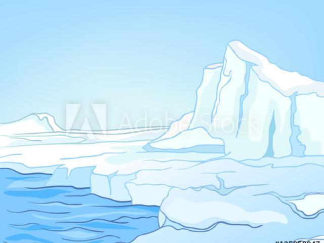 Glacier clipart habitat arctic. Free download clip art