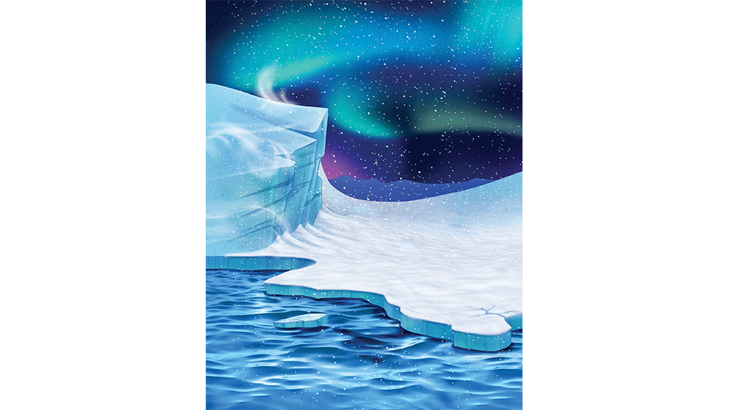 Youtube clipart ocean. Polar blast background art