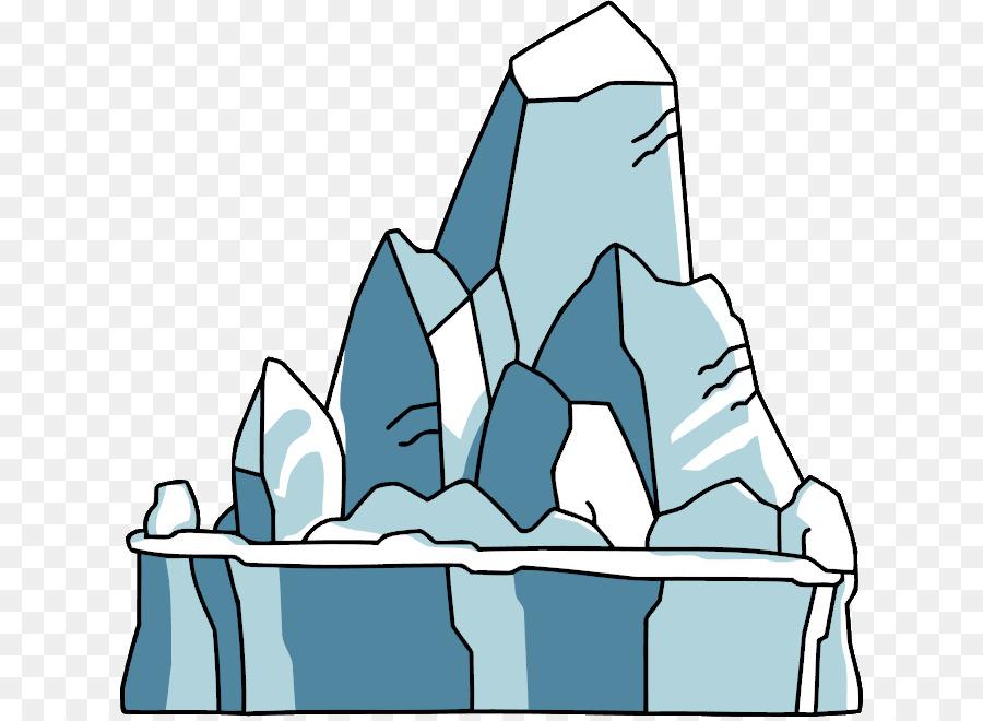 Glacier clipart iceburg. Iceberg scribblenauts clip art