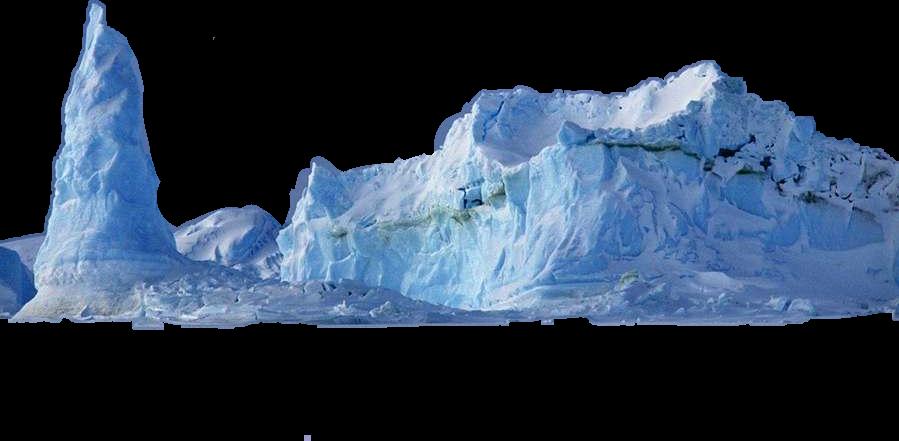 Ice antartica sticker by. Glacier clipart iceburg