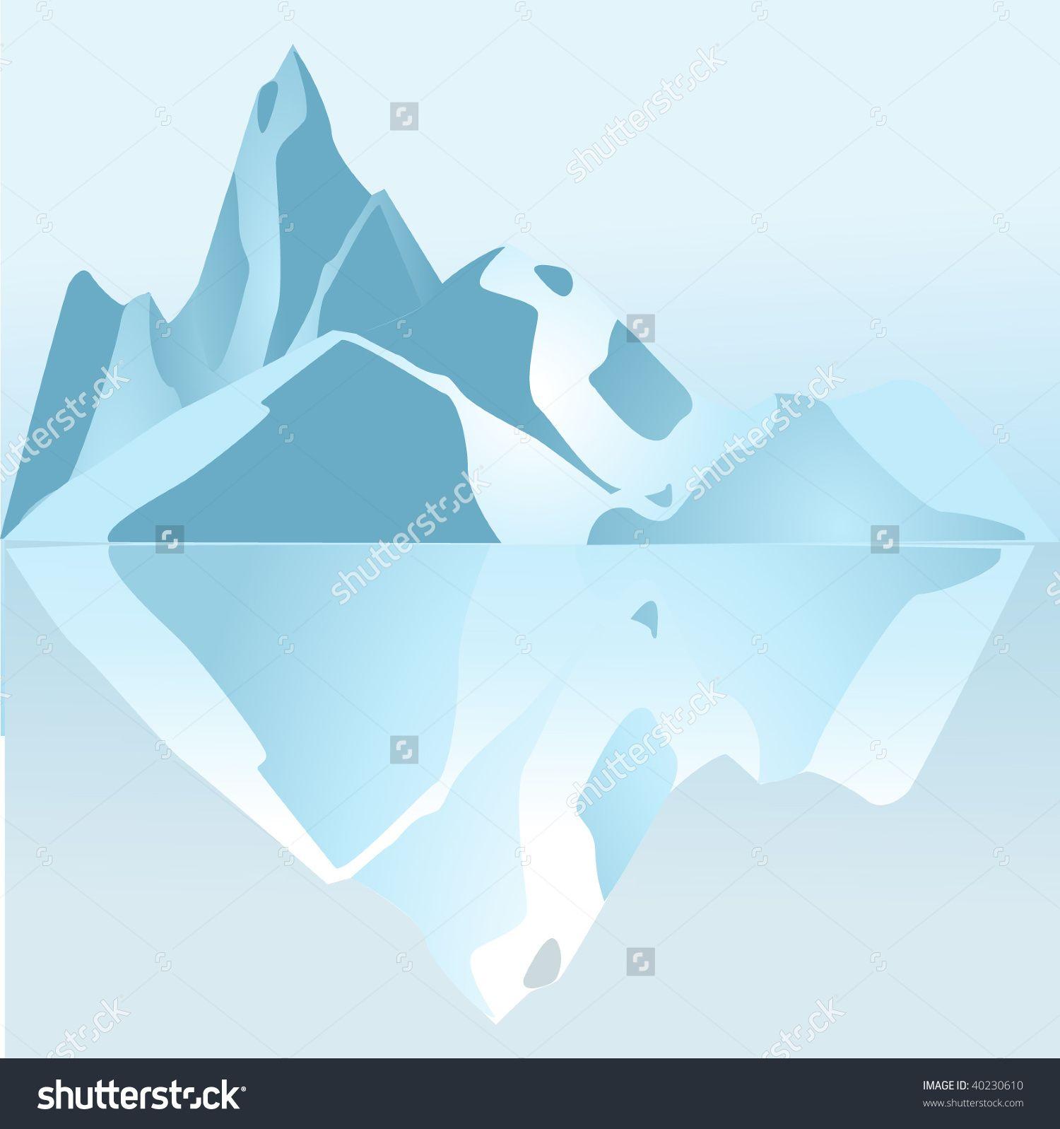 Glacier clipart landscape arctic. Pin by maddy merzvinskis