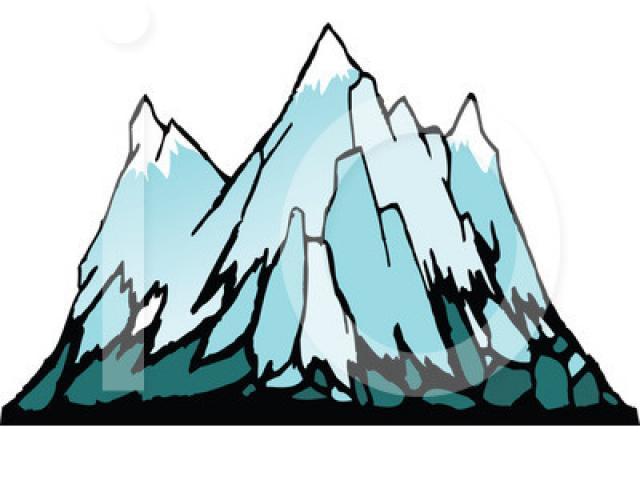 Free iceberg download clip. Glacier clipart moutain