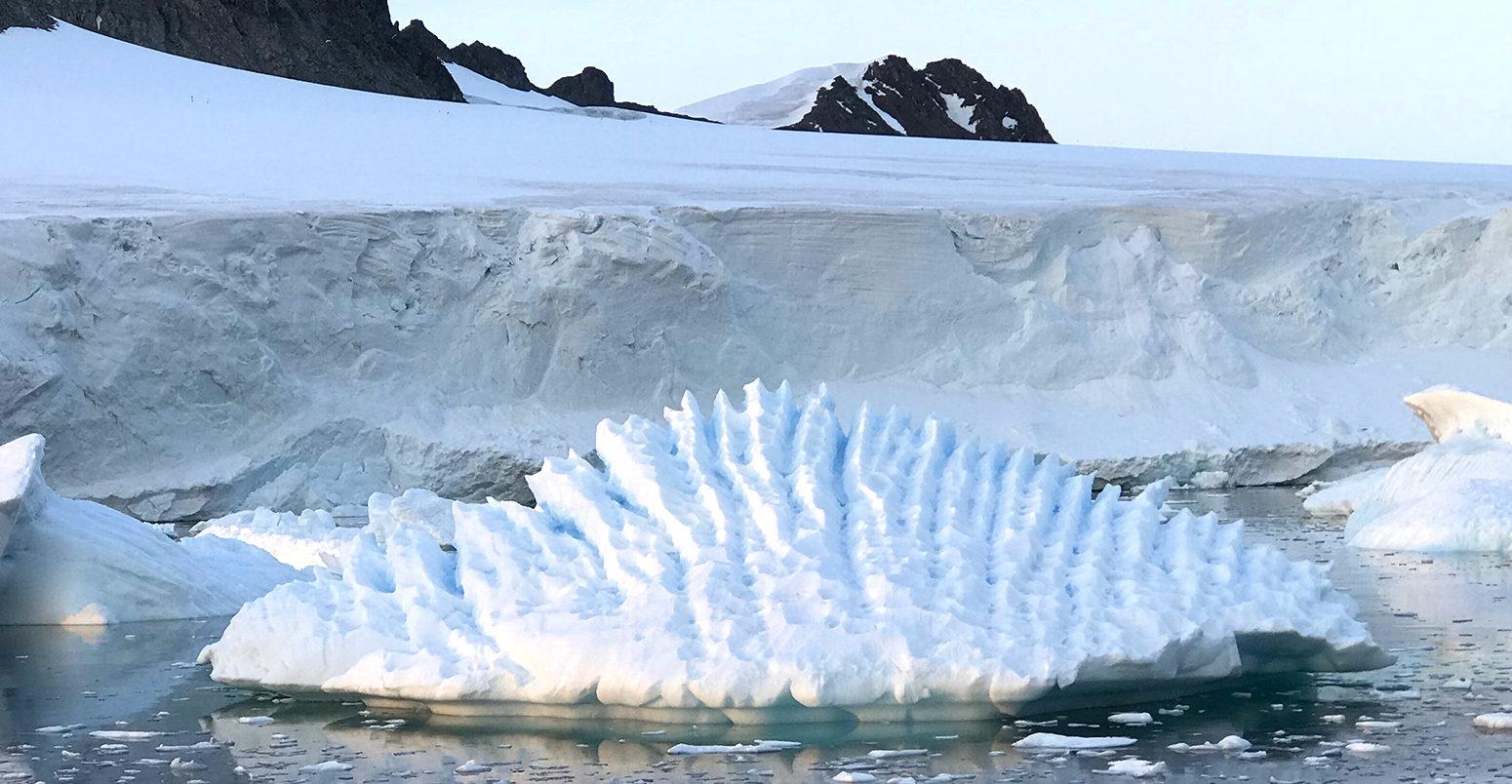 Level rise due to. Glacier clipart sea ice