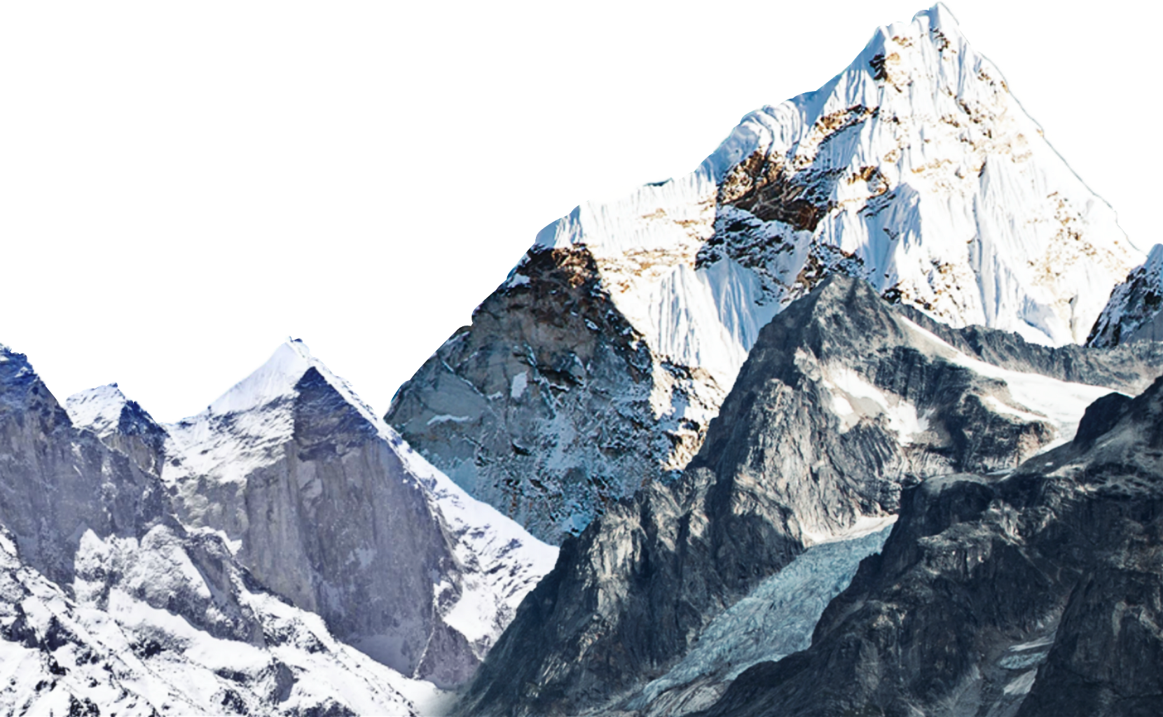 Mountains ftestickers nature report. Glacier clipart snow mountain