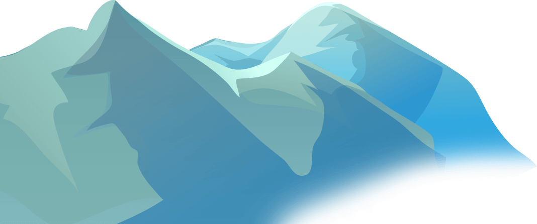 . Glacier clipart tall mountain