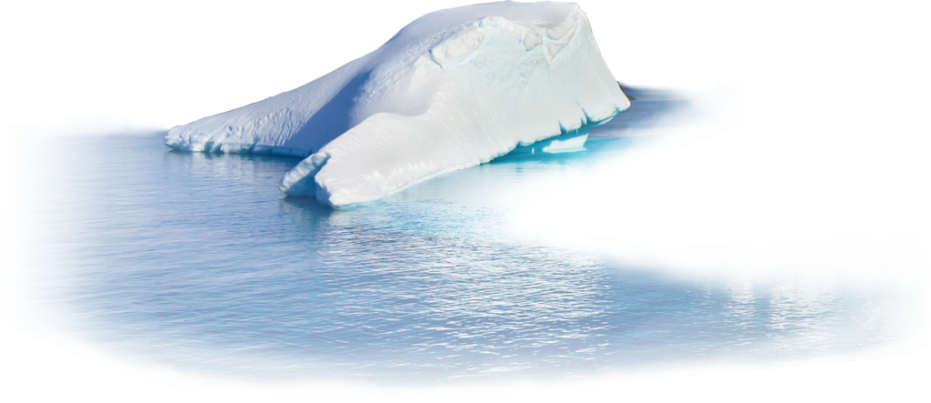 collection of transparent. Glacier clipart tip iceberg