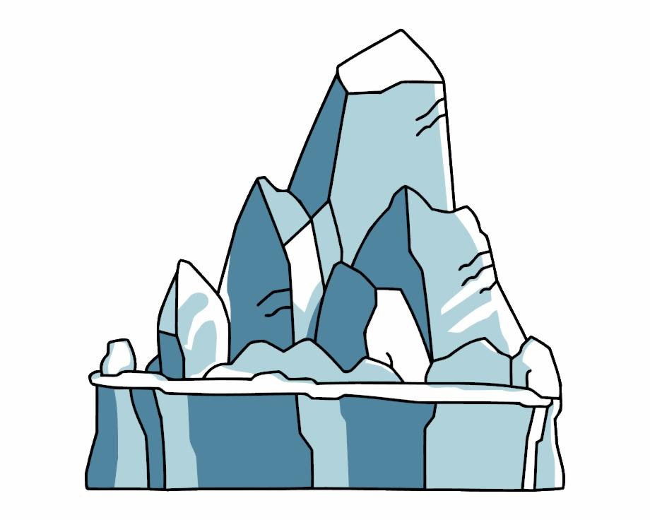 Free png images download. Glacier clipart tip iceberg