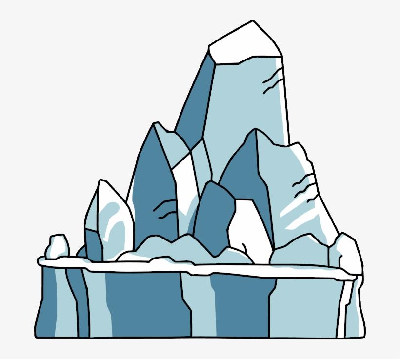 Glacier clipart transparent. Svg black and white