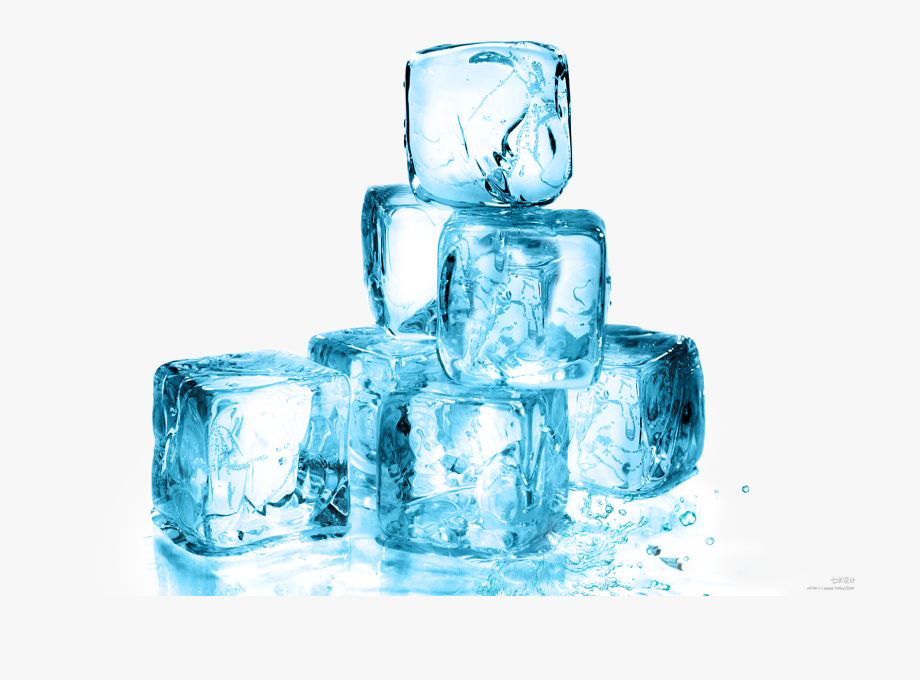 Glacier clipart transparent. Ice cube melting water