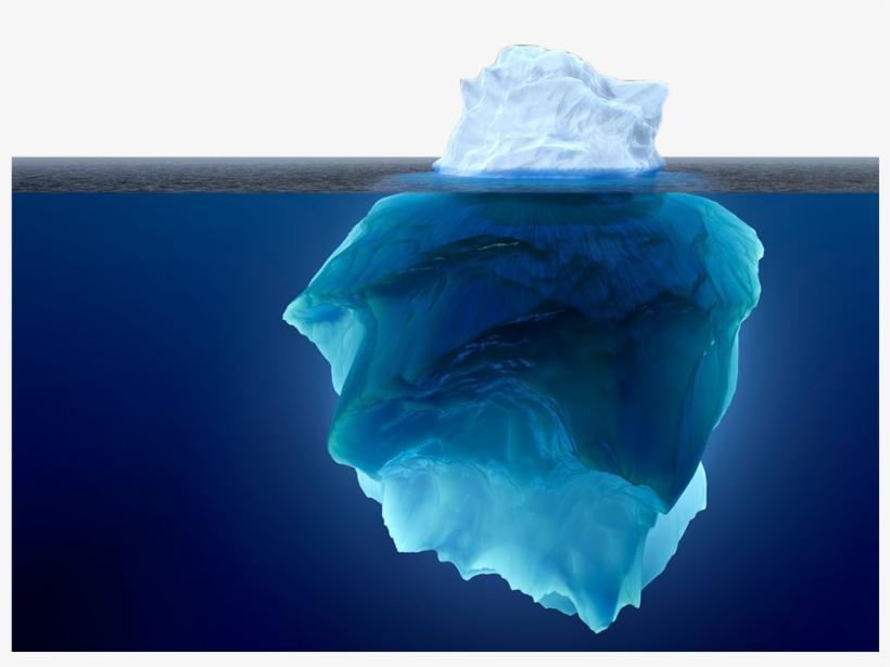 Underwater iceberg . Glacier clipart transparent