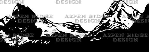 National park mountain range. Glacier clipart vector