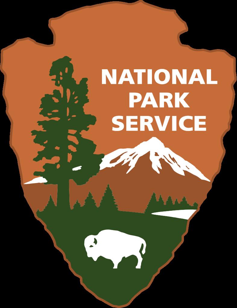 File us nationalparkservice logo. Glacier clipart vector