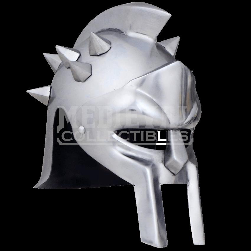 Gladiator helmet png. Spiked crest ah h