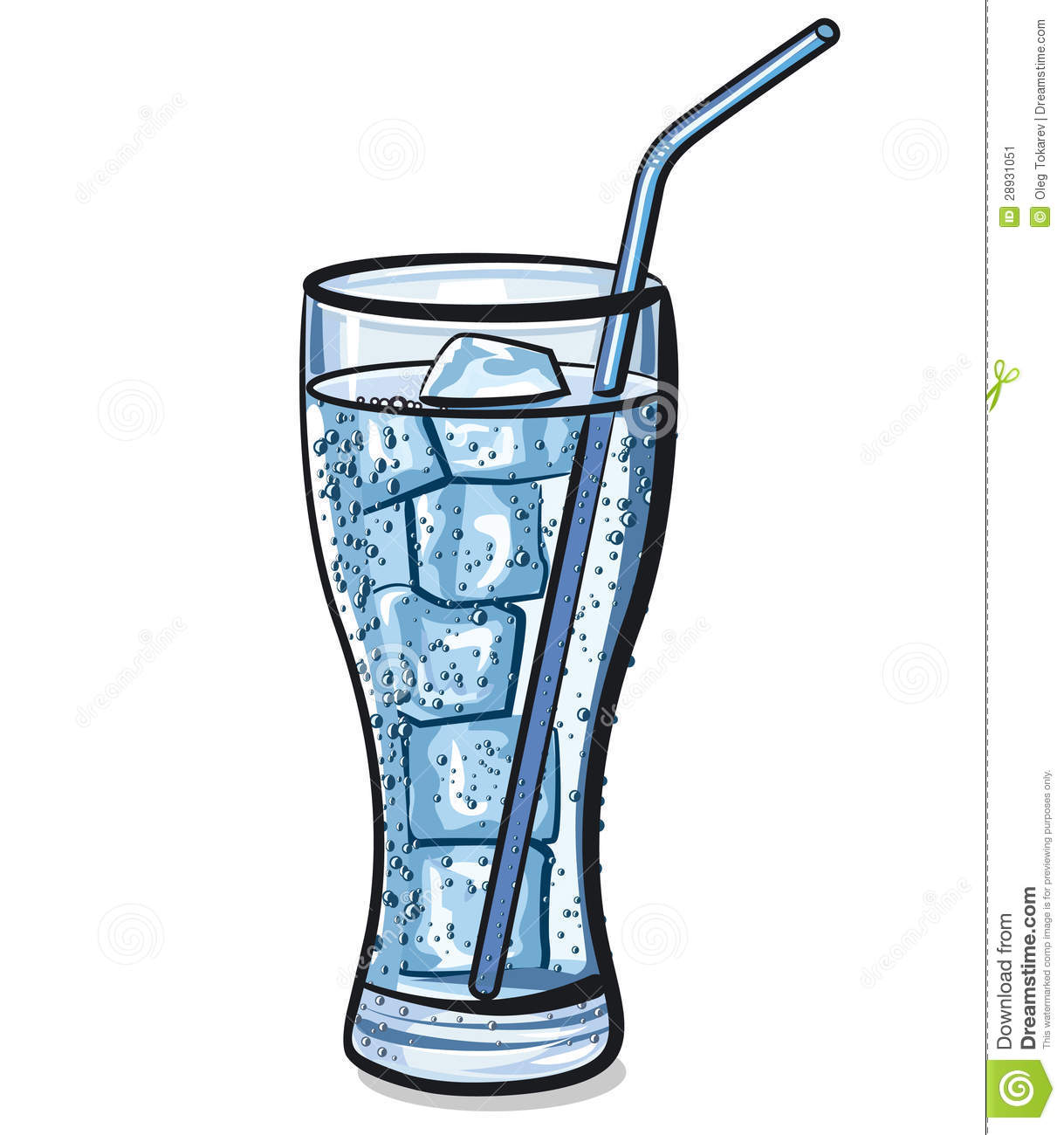 Of water ice . Glass clipart