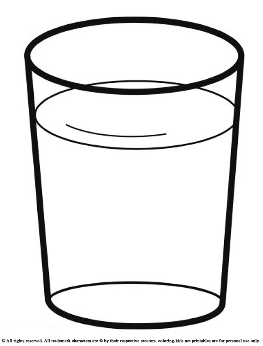 Glass clipart.  collection of water