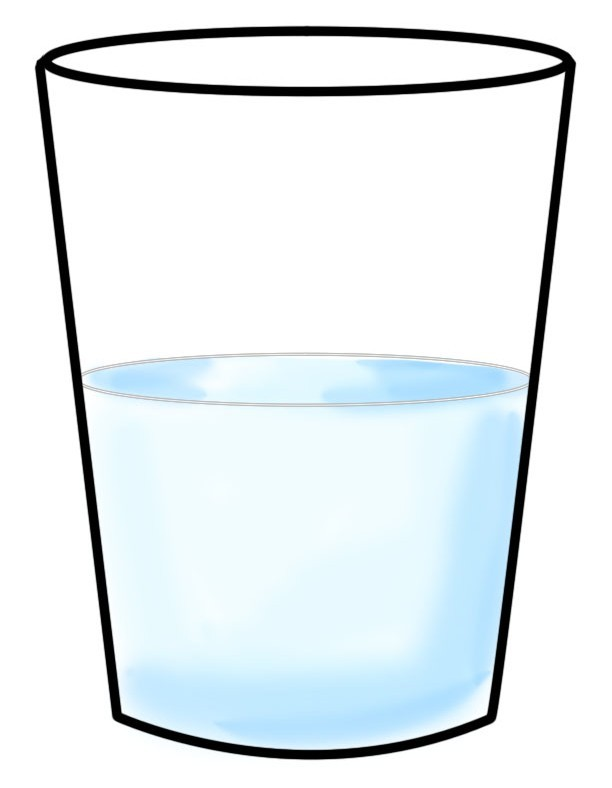 Mug clipart full. Water cup free download