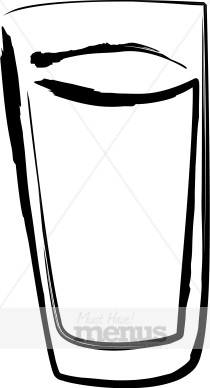 Glass clipart. Drinking beverage
