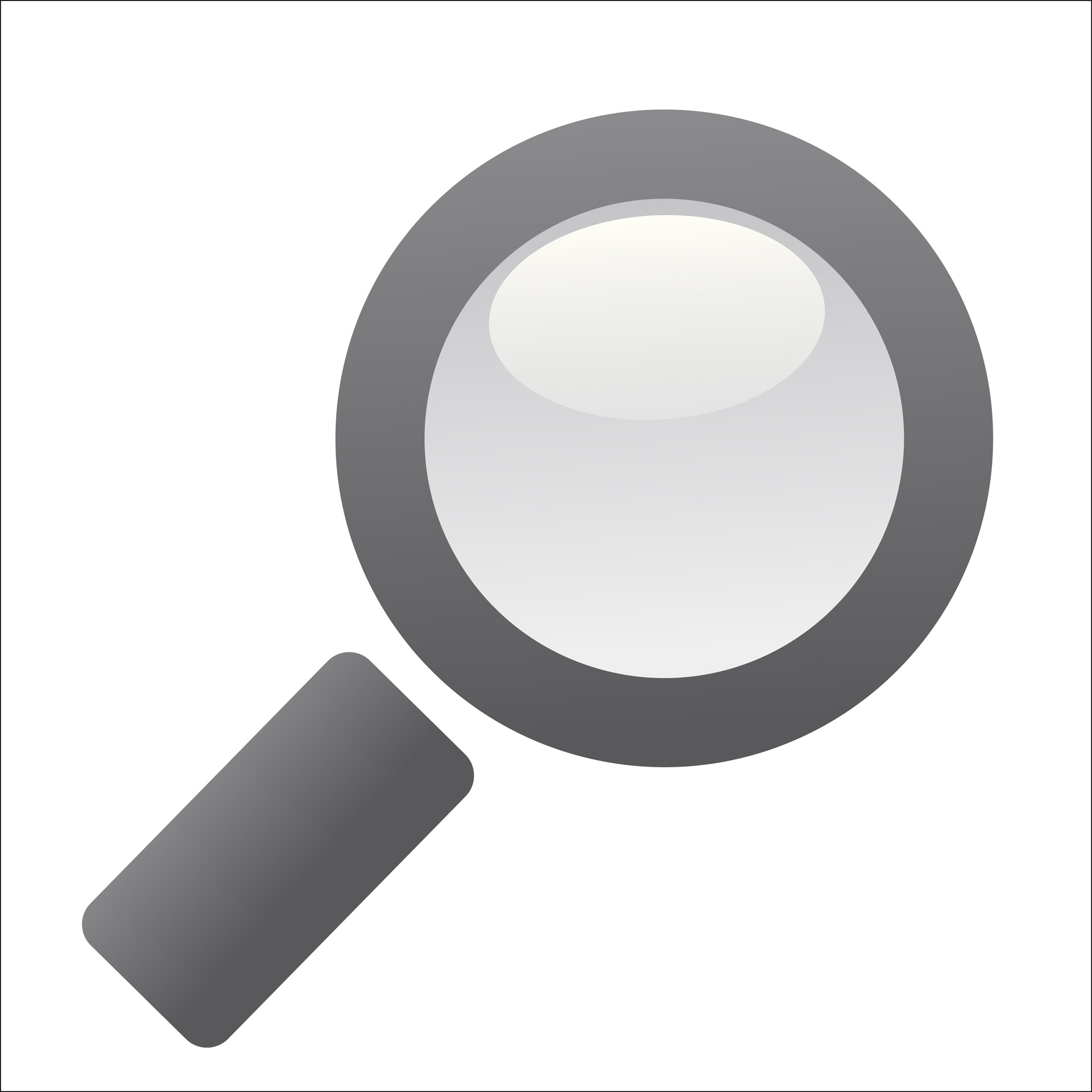 Glass clipart. Magnifying free stock photo